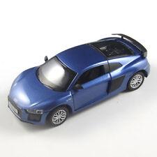 Voitures, camions et fourgons miniatures bleus pour Audi
