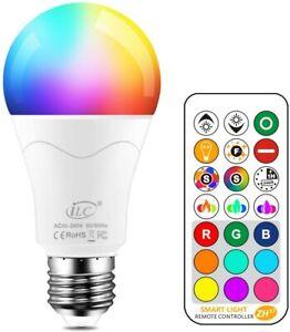 iLC 85W Équivalent Ampoule Led Couleur Changement de couleur 1 Paquet