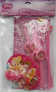 Party Favors Pack DISNEY PRINCESSES Birthday Loot Bag Fillers 20 Pieces