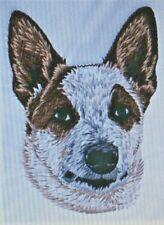 Australian Cattle Dog Red Heeler Kids Set Hand Towels Embroidered Adorable