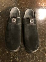 UGG Hanz Black Casual Shoes Or Slippers- New In Box Size 8