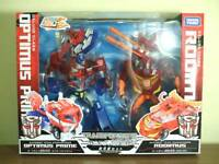 Transformers Animated TA Optimus Prime & Rodimus Action Figure FROM JAPAN