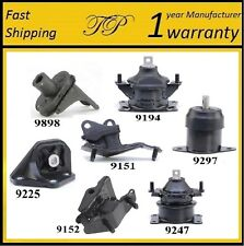 7 PCS MOTOR & TRANS MOUNT FOR 2004-2008 Acura TSX 2.4L - Automatic