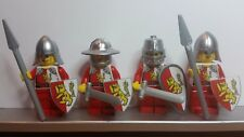 Lego CASTLE CRUSADER GRIFFIN RED KNIGHTS Minifigs NEW made from Stickers
