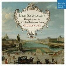 GIULIA NUTI - LES SAUVAGES-HARPSICHORDS IN PARIS  CD NEW+