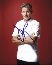 GORDON RAMSAY signed autographed HELL'S KITCHEN photo