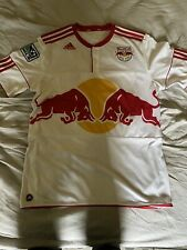 Adidas Large White New York Red Bulls Thierry Henry Home Jersey