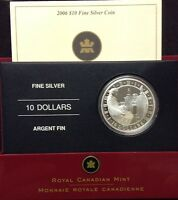 2006 $10 Fine Silver Coin - Fortress of Louisbourg