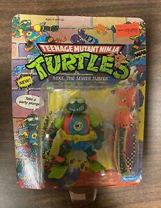 Vintage Teenage Mutant Ninja Turtles Mike the Sewer Surfer 1990 Playmates Figure