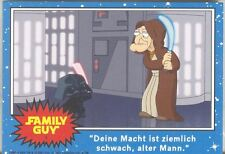 Family Guy Star Wars A New Hope DVD Release Promo Card Set German