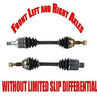 Front Axles for Commander & Grand Cherokee W/O LIMITED SLIP DIFFERENTIAL ONLY!!!