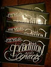 Big Meas Style Tradition and Grace 2.0 tattoo lettering book sketchbook