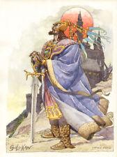 ENRIQUE BRECCIA  -  illustrazione Golohan