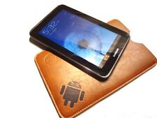 "GSAstore ™ Faux Leather 7"" Slim Pouch / sleeve for Tab 2, Kindle Fire, Nexus 7"