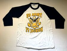 Mens Hanes US Army Logo  T-shirt X-Large
