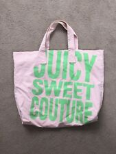 JUICY COUTURE LARGE TOTE BAG PINK