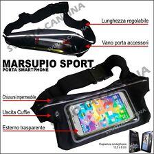 Marsupio Custodia Impermeabile Sport Fascia per Sony Xperia M4 Aqua