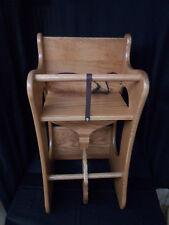 Wooden 3 in 1 Combo Highchair, Rocker, Desk  Solid Oak Kids Toy Provincial Stain
