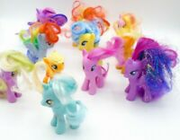 Hasbro Lot of 11 My Little Pony Small 2010s & UP Mix Set
