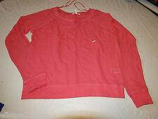 Aeropostal Aero L large 697 coral Womens long sleeve mesh shirt cover up NWT#
