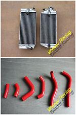 Fit Honda CRF450R 2002 2003 2004 Aluminum Radiator&Silicone Hoses