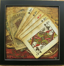 Poker Picture Game Room Prints Cards Prints Framed Country Pictures Prints