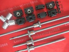 4 Lead Screws ballscrews 1605-300/850/1150/1150mm+4bk/bf12+4 coulpers cnc router