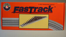 LIONEL FASTRACK GRADUATED TRESTLE TRACK SET train elevated bridge piers 6-12037