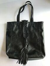 Black BIG BUDDAH Shoulder Bag with Tassel