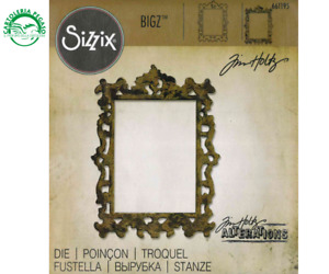 FUSTELLA PER SIZZIX BIGZ - CORNICE ORNATA 66195 - BIG SHOT