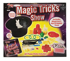 Magic Tricks Show Set Including Magician's Hat & Rabbit Trick Age 6 Years & Up