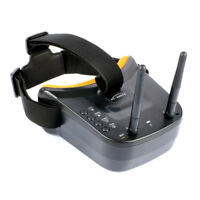Mini FPV Goggles 3 inch 480 x 320 Display Double Antenna for Racing Drone Models