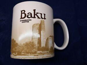 Starbucks City Collector Mug -BAKU Azerbaijan 16oz brand new 2017