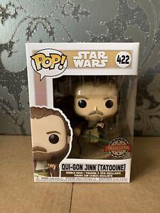 Funko Pop Star Wars - Qui Gon Jinn Tatooine Exclusive!!