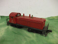 Vintage   Lionel O Scale   Swich Engine # 600 ( red M.K.T. )  Works  Lot # RO.