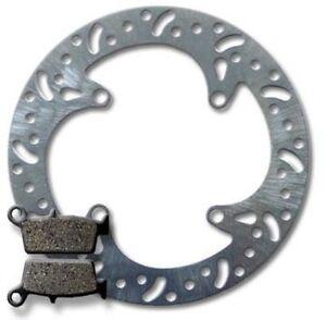 Kawasaki Rear Brake Rotor + Pads KX250 F (04-15) KX450 F (06-15) KLX450 R(07-12)