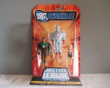 Justice League DC Universe Green Lantern Captain Atom Supergirl 3 Action Figures