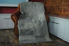 Pelzdecke Schaf Felldecke, Tagesdecke,  Blanket fur /bedspread