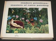 1959 Modern Primitives Abrams Art Book Grandma Moses Hicks Peru Nikifor Douanier