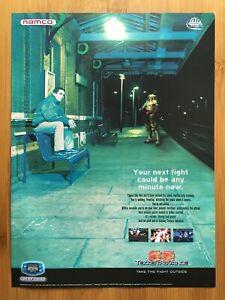 Tekken Advance GBA 2002 Vintage Print Ad/Poster Official Fighting Game Promo Art
