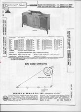 1965 PHOTOFACT Sears Silvertone Various Models Tuner Amp Record Player #2068