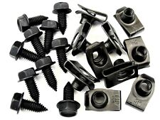 "Ford Truck Body Bolts & Clips- 5/16-18 x 13/16"" Long- 1/2"" Hex- 20 pcs- #392"