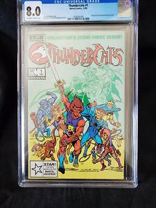 Thundercats #1 - MARVEL COMICS 1st print! - CGC 8.0 - 1985