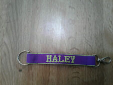 "Personalized Key Chain ""HALEY"""