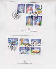 macao 1999 buildings,set on paper,Fd cancel g1647