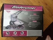 Bladerunner Pro78w Size 9 Rollerblades With Free Knee Pads