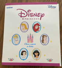New ListingDisney Princess Embroidery Designs Card For Brother Disney Sewing Machine Oop