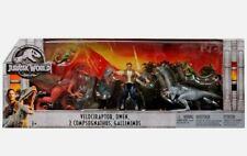 Velociraptor, Owen, 2x Compsognathus & Gallimimus Action Figure 5-Pack