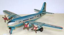 """CB-021 -- LINEMAR (Japon) -- Avion en tôle - DC7 """"Américan Airlines"""""""