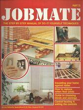 JOBMATE 72 DIY - CENTRAL HEATING, ROTTON FLOORS etc